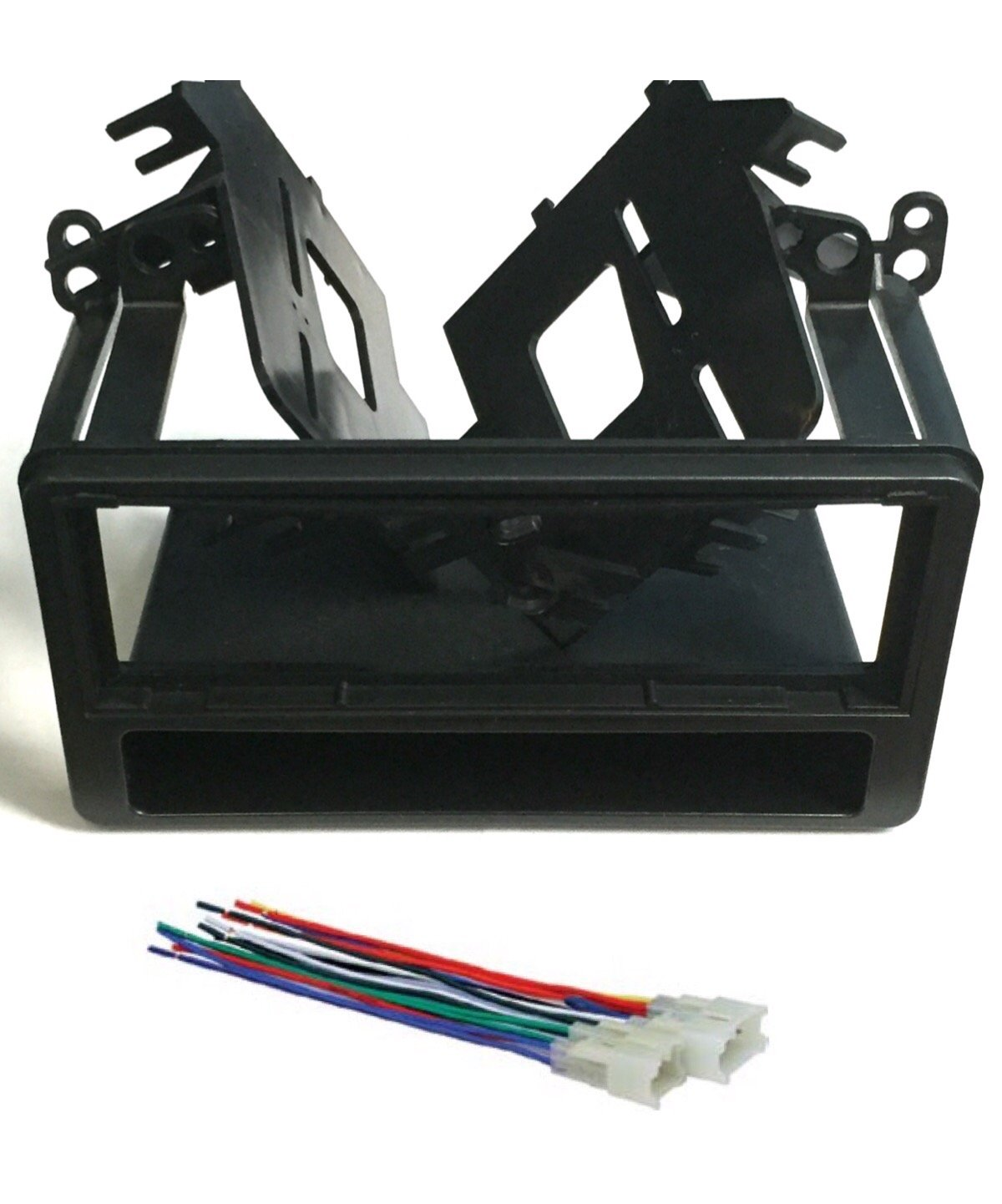 hight resolution of get quotations asc audio car stereo dash kit and wire harness for installing a single din radio for