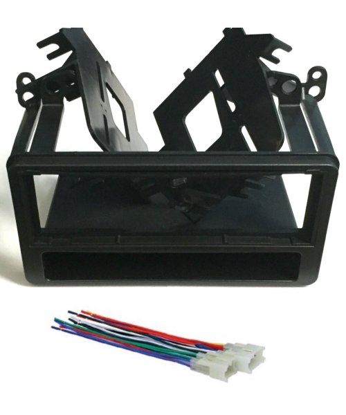 small resolution of get quotations asc audio car stereo dash kit and wire harness for installing a single din radio for