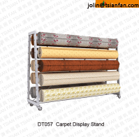 Dt057 Carpet Rug Display Rack / Roll Carpet Display Rack ...