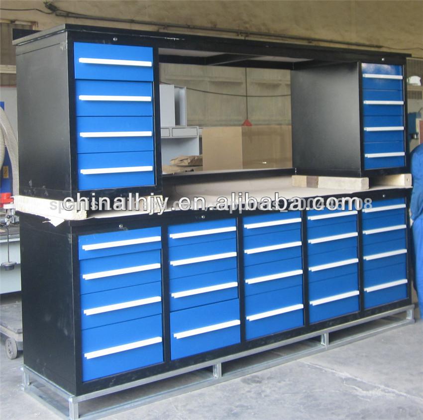 Banco de trabajo de acero armariosgabinetes herramientas