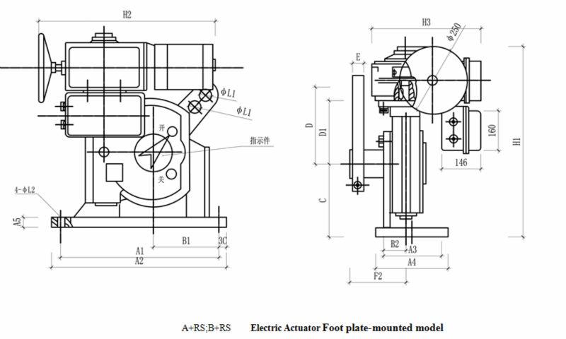 Bernard Electric Actuator,Induced Draft Fan Electric