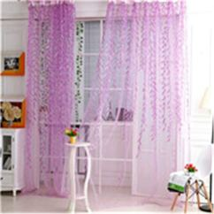 Kitchen Sheers And Bath Showroom Nj Cheap Shop Curtains Find Deals On Get Quotations Mlz Wholesale Willow Leaf Tulles 3d Window Sheer For Living Room Cortinas Bedroom
