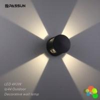 Modern Outdoor Led Decorative Wall Light 12w Aluminium ...