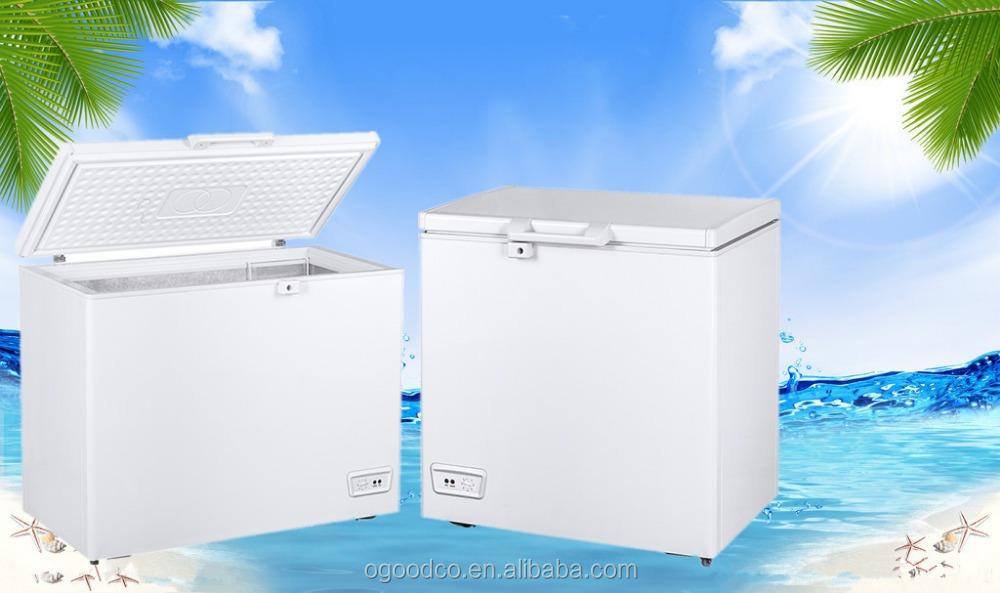 200L congelador vertical congelador de helado con el CE