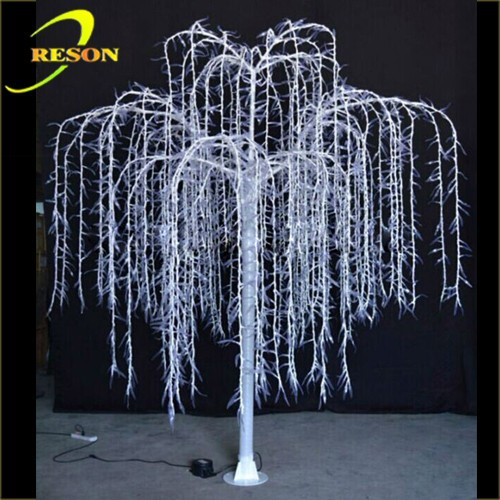Led Artificial Lighted Weeping Willow Tree Buy Led