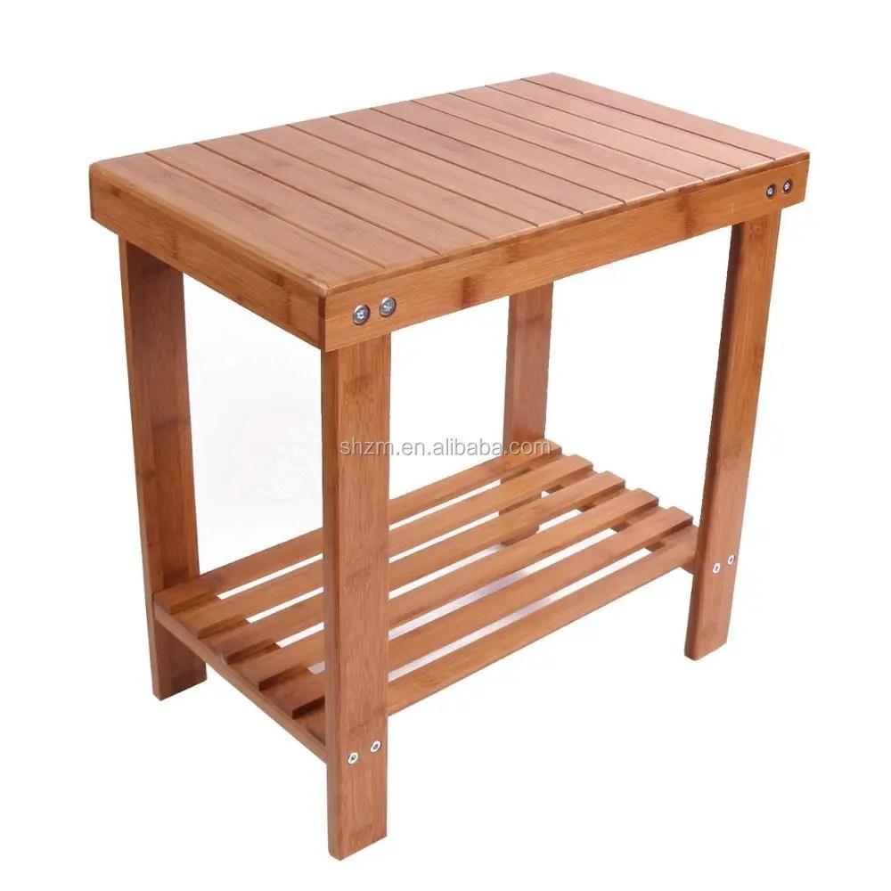 oneup banc de siege de spa en bambou pour salle de bains tabouret etanche petite etagere de rangement pour enfants buy etanche banc de