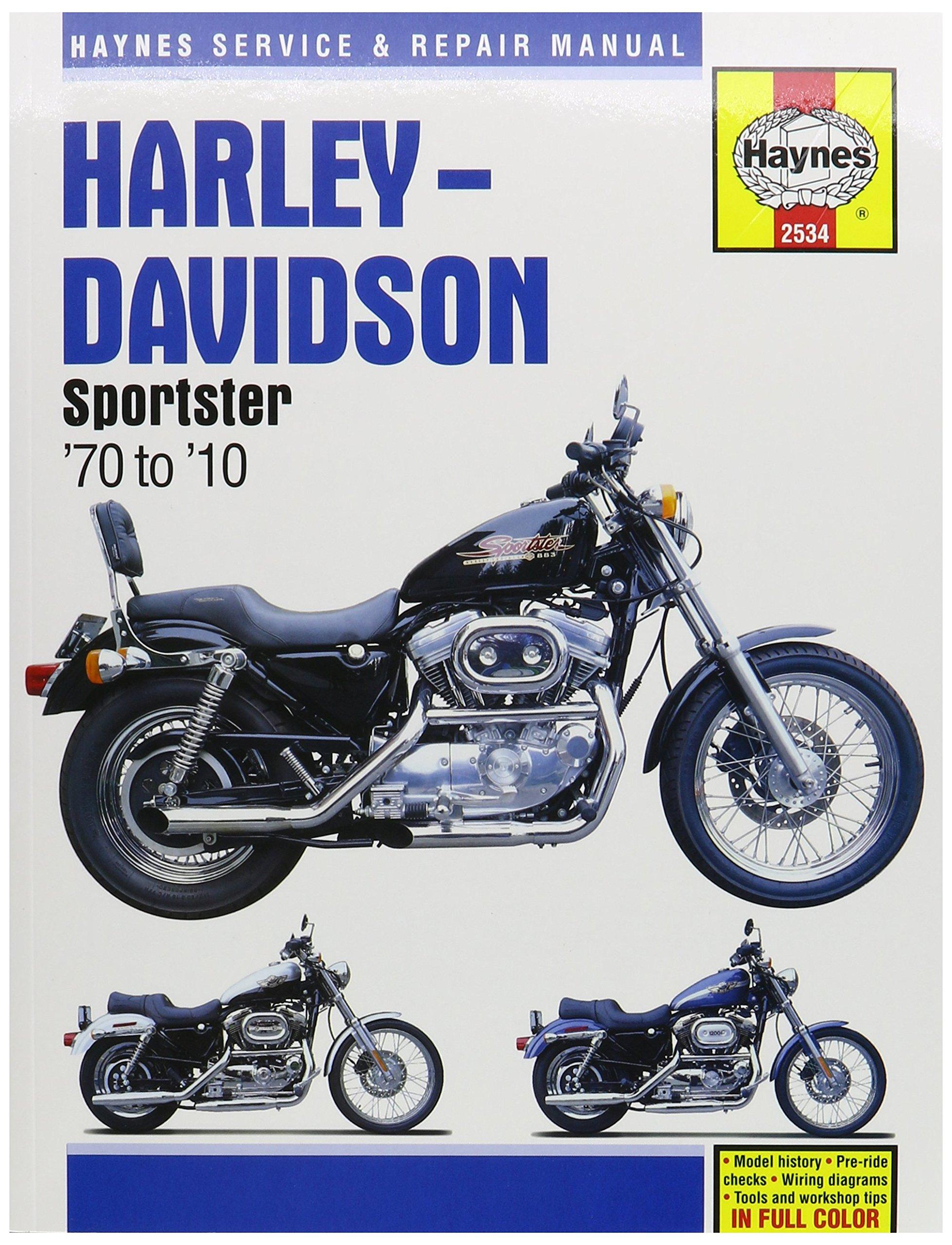 hight resolution of get quotations 1970 2013 harley davidson sportster xl 883 1200 haynes manual 2534