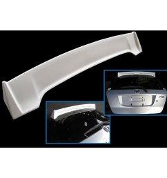 get quotations jdm mugen style rear fiber spoiler wing fit 01 08 honda jazz gd1 gd3 [ 1024 x 1024 Pixel ]