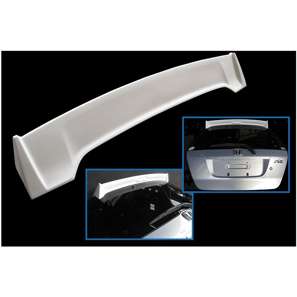 hight resolution of get quotations jdm mugen style rear fiber spoiler wing fit 01 08 honda jazz gd1 gd3