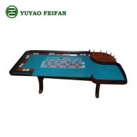 Quadrate Antique Craps Poker Game Table In Casion