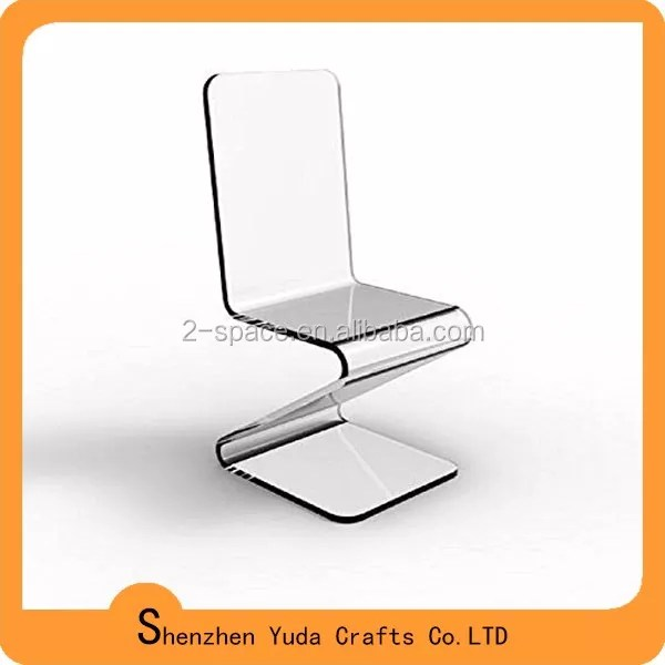 z shaped high chair mission style recliner finished furniture clear acrylic holder