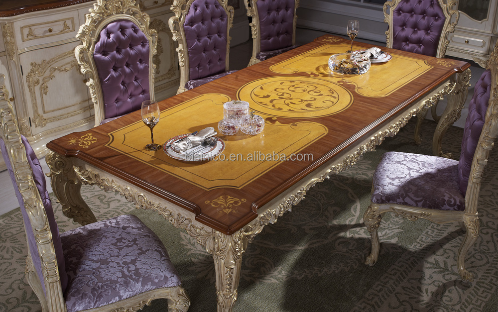 Luxury Dining TableAntique European Italian Style Dining