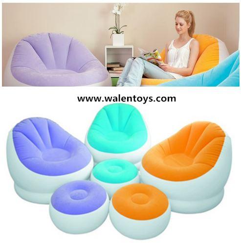 intex ultra lounge chair and ottoman zebra office inflatable w sofa dorm buy