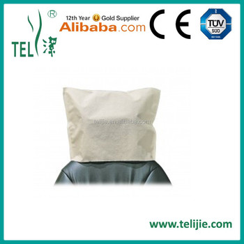 chair covers for headrest ikea preben disposable cover protecting dental cleaning paper coated pe film