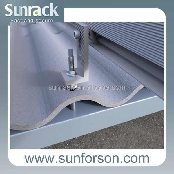 Pv Solar Panel Tile Roof Mount System Bracketsaluminum