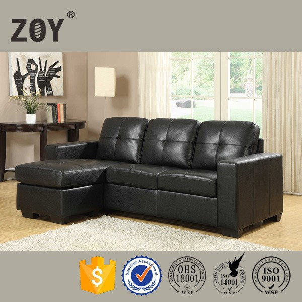 l shaped leather sofa bed suppliers and