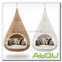 Audu Bird Nest Swing Chairs,Patio Swing,Rattan Swing Bed