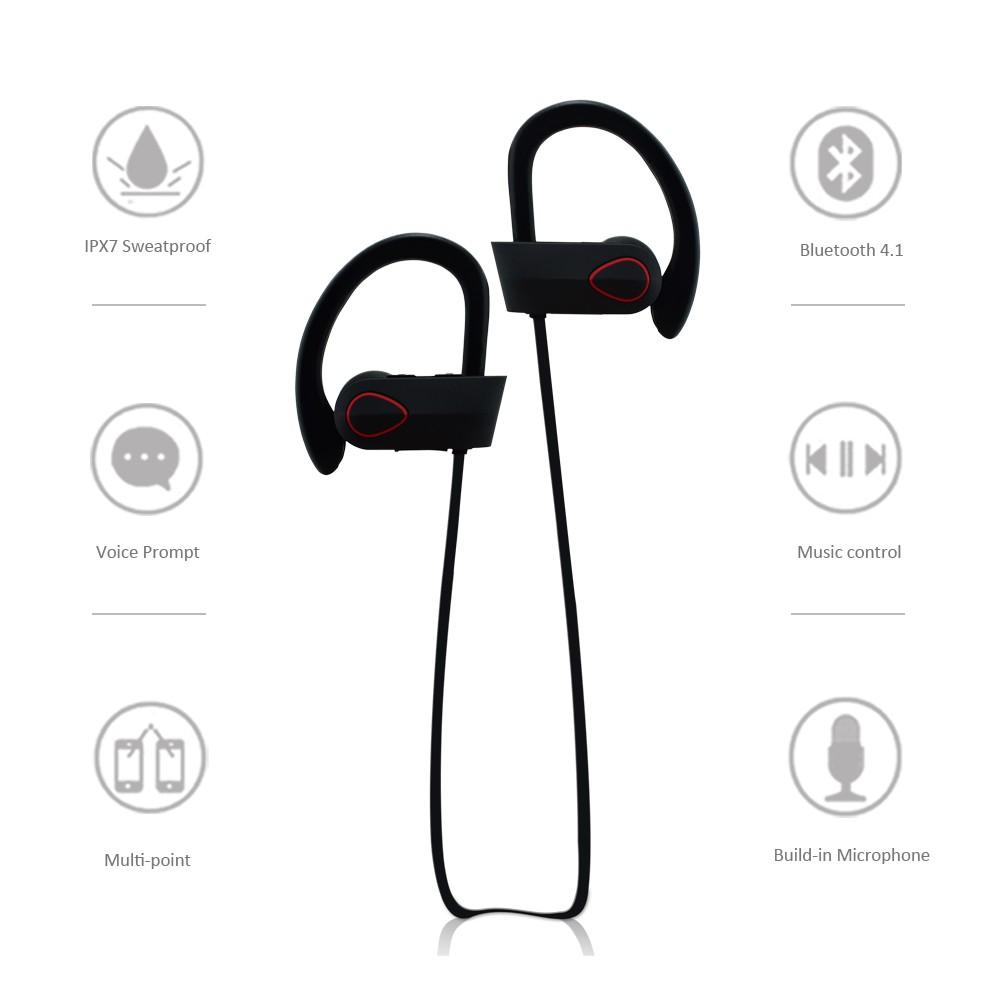 Ru9 Weatherproof Sport Bluetooth A2dp Wireless Earbuds Cvc