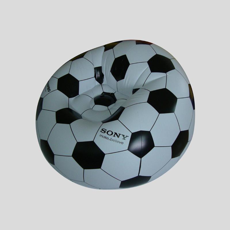 Plastic Inflatable Soccer Ball Chair  Buy Soccer Ball