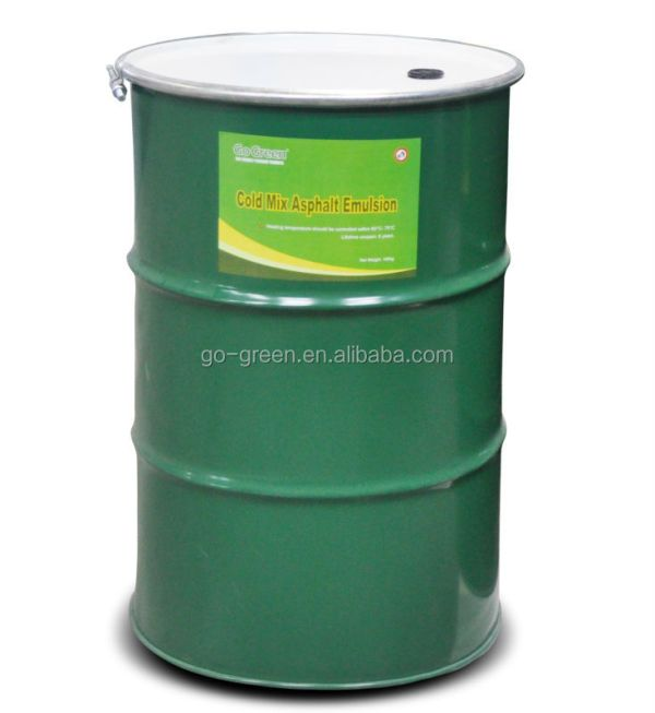 Steel Drum Bitumen Emulsion Liquid Emulsion Cold Mix
