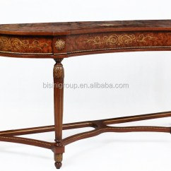Painted Queen Anne Sofa Table Overnight Retailers New Classic Style Royal Console For Lobby Bf11 08263a