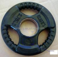 High Qulity Plastic Weight Plates In Weight Lifting