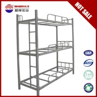 Metal Three Bunk Bed Triple Bunk Beds For Kids - Buy Three ...