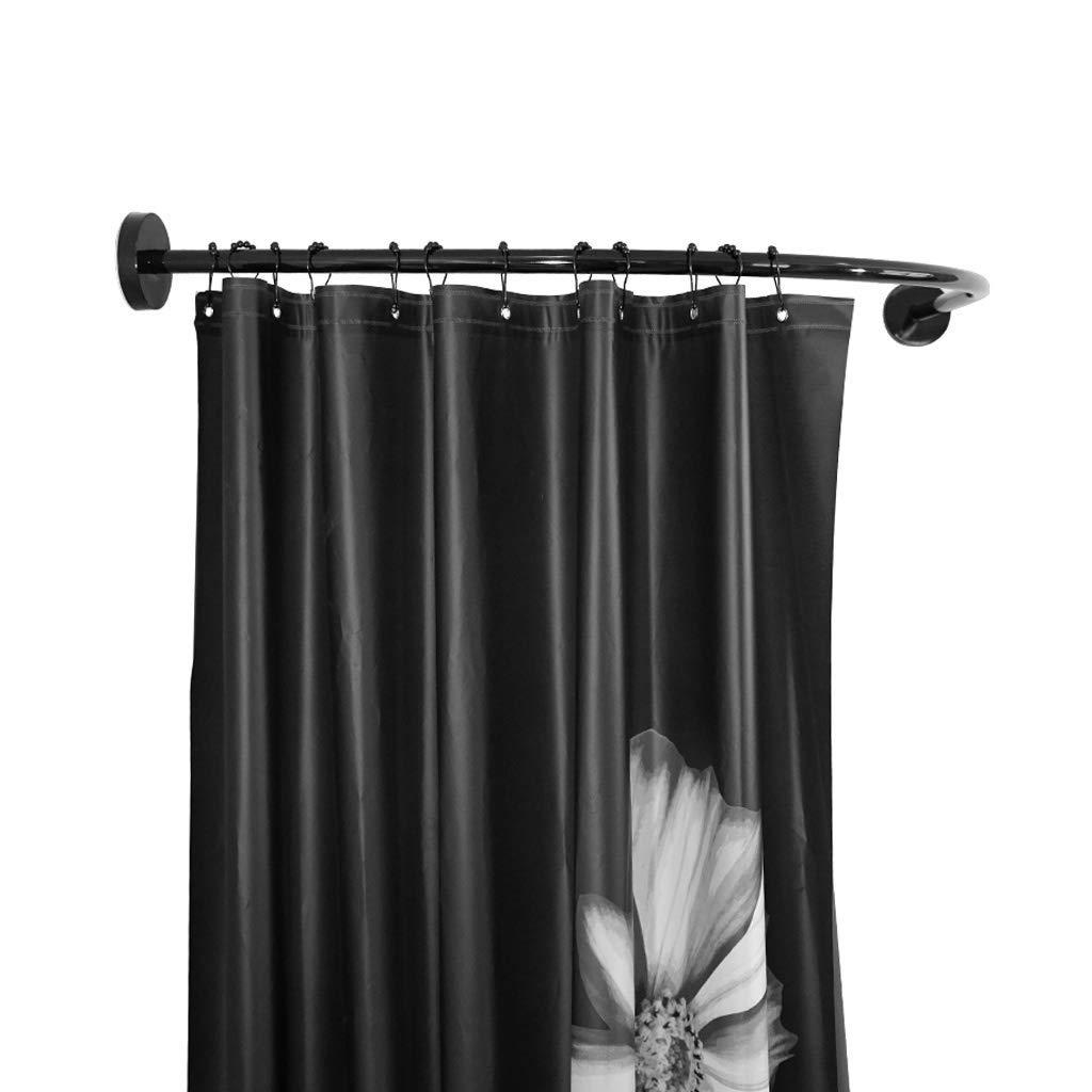 cheap u shaped shower curtain rail