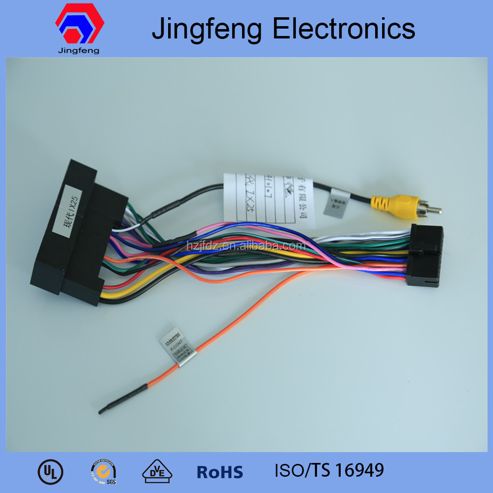 medium resolution of wire harness cable assembly manufacturer for hyundai ix25