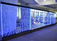 Room Divider Acrylic Water Bubble Panel / Led Water Wall