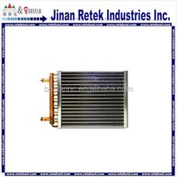 Furnace Radiator Water to Air Copper coil Heat Exchanger