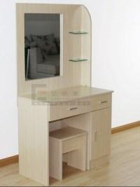Bedroom Furniture Wooden Makeup Desk Dressing Table Mirror ...
