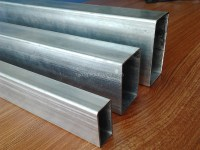 Galvanized Square Tubing 4x4 Galvanized Square Metal Fence ...