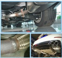 Bulk Exhaust Bellows Extension Pipe For Motorcycle/truck ...