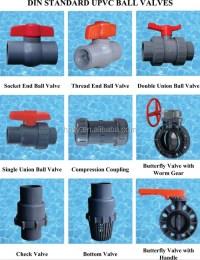 High Pressure Pvc Plastic Ball Valves/ Pipe Fittings - Buy ...