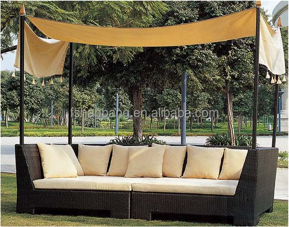 canopy daybed outdoor wicker sun sofa lounge american leather sleeper sale round rattan bed swing buy