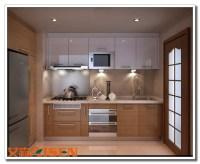 Apartment Bright Color Kitchen Cabinet,Small Kitchen ...