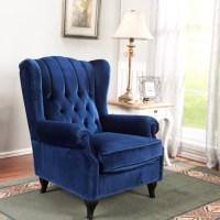 Single Sofa Chair High Back Living Room Chairs