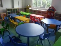 Plastic Free Daycare Furniture/ Used Preschool Tables And ...