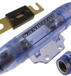get quotations samurai inline waterproof anl holder 1 0 0 gauge fuseholder free 100 amp fuse us [ 1500 x 1200 Pixel ]