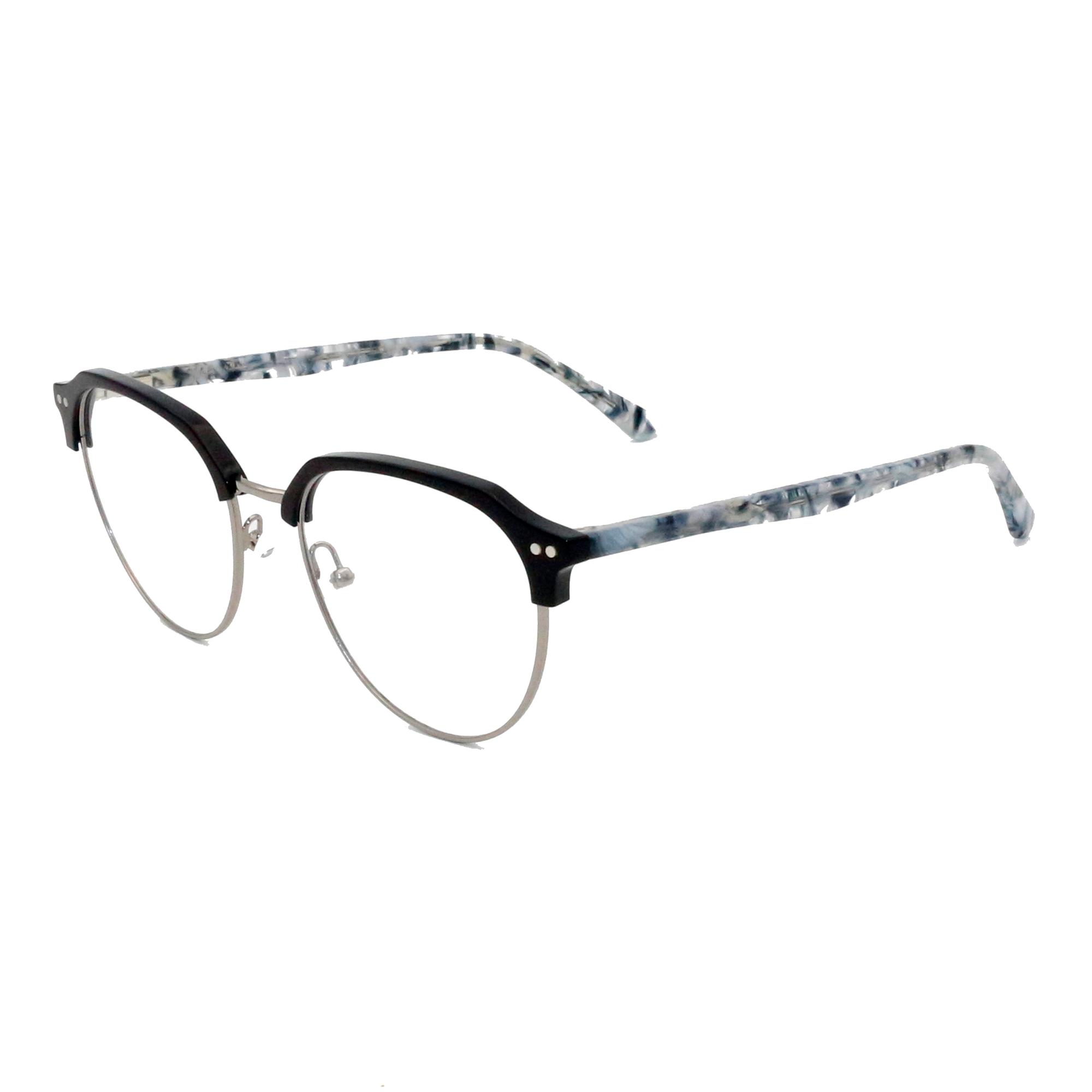 Acetate Material Eyeglasses Frames 2018 Fashion Retro