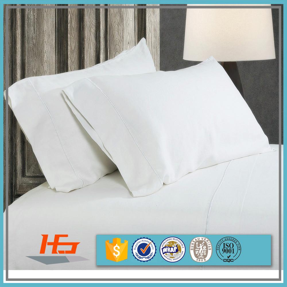 Bulk 100 Cotton White Pillow Cases Wholesale White