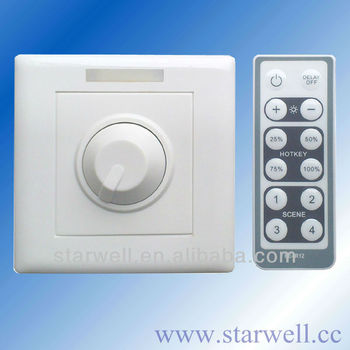 Pe383ti 230v Led-dimmer / 230v-touch-dimmer Mit Standard-ir