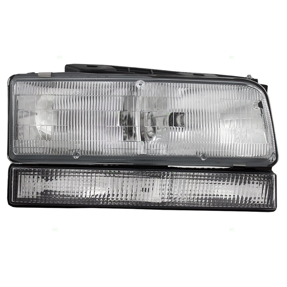 hight resolution of get quotations passengers combination headlight headlamp replacement fits 92 96 buick lesabre 91 96 park avenue