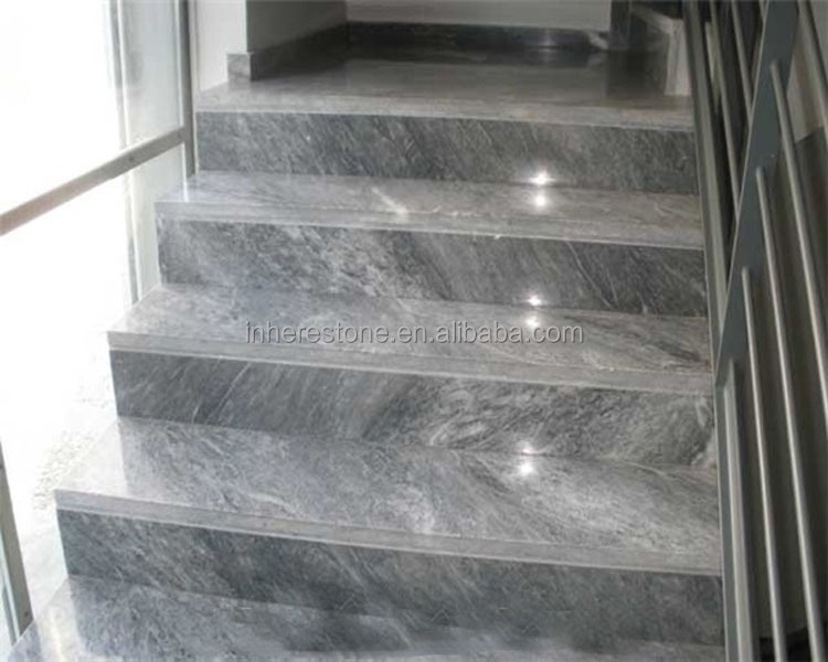Black Marble Staircase Treads For From China Stonecontact Com
