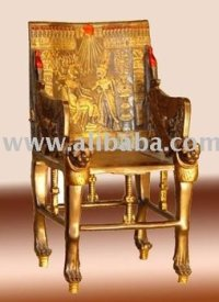 King Tut Throne Pharao Chair