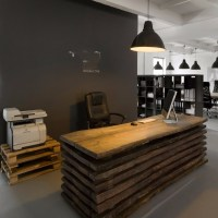 Custom Modern High-end Office Furniture Of Office Counter ...