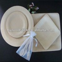Biodegradable Eco-friendly Bamboo Party Plates Disposable ...
