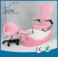 2016 Pink Nail Spa Pedicure Chair Beauty Stool Kids Spa ...