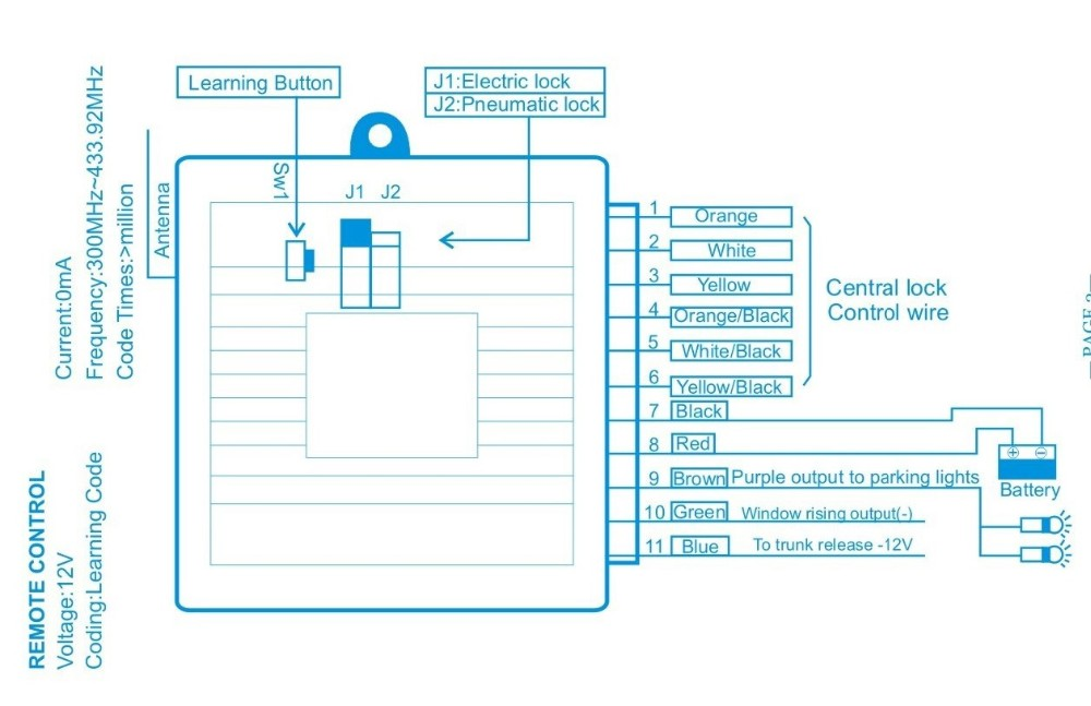 solar power system wiring diagram vauxhall vectra c lanbo easy install keyless entry lb-402, view system, ...